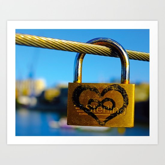 Love Locks 2012 48 Art Print