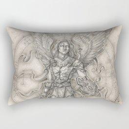 Michael: The Right Hand of God Rectangular Pillow
