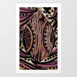 Africa Art Abstract Art Print