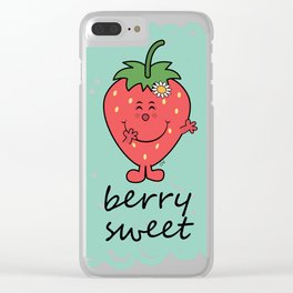 Berry Sweet Clear iPhone Case