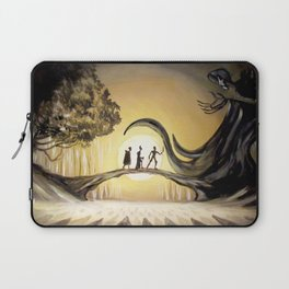 The Tale of the Three Brothers Laptop Sleeve
