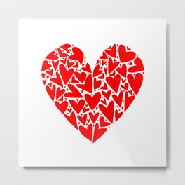 Heart from Hearts Metal Print