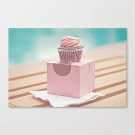 Californian Cupcake Canvas Print