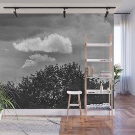Silver Cloud Wall Mural