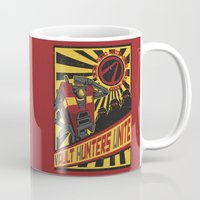 minions Mugs featuring Vault Hunters Unite by Prismic Designs
