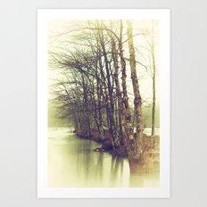 Natures Winter Slumber Art Print