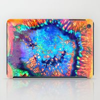 agate iPad Cases featuring Colorful agate by haroulita