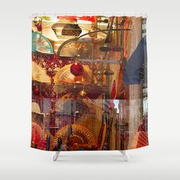 Reflections of Madrid Shower Curtain