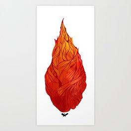 Fiery Soul Art Print