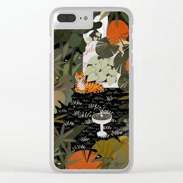 Jungle #1 Clear iPhone Case