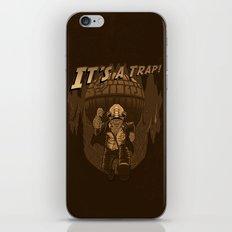 It's a trap!! iPhone & iPod Skin