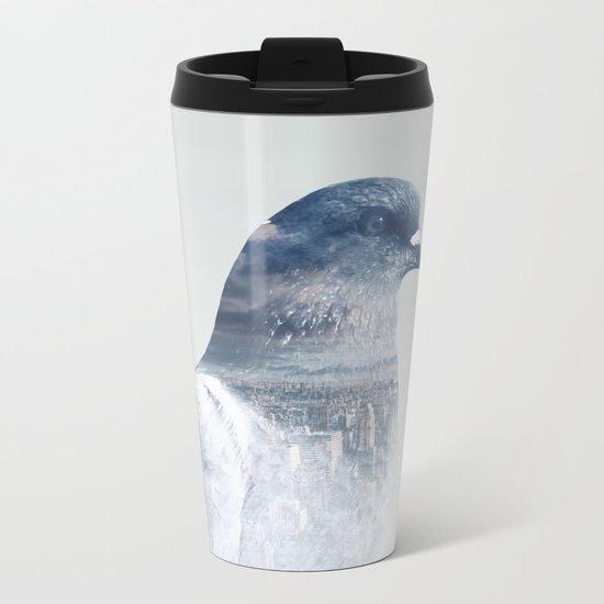 The world is my bathroom Metal Travel Mug