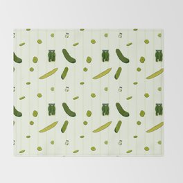 Pickles Throw Blanket