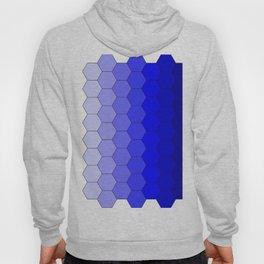 Hexagons (Blue) Hoody