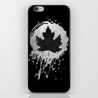 leaf iPhone & iPod Skins featuring Leaf by Bill Pyle