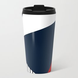 Abstract geometric pattern Lola 2 Travel Mug