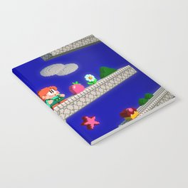Inside Rainbow Islands Notebook
