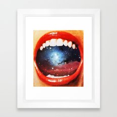 Taste Bud Regrowth Framed Art Print