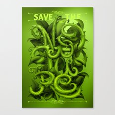 Save The Nature Canvas Print