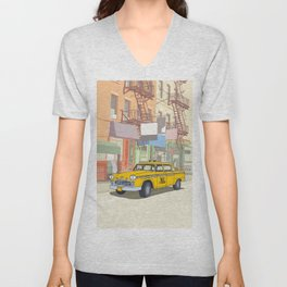NEW YORK CAB Unisex V-Neck