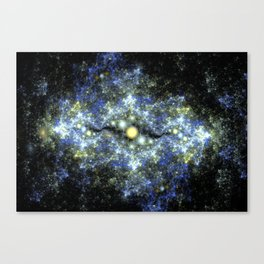 The Starry Sky at Night. Canvas Print
