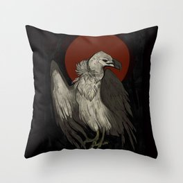 Dead Sun Throw Pillow