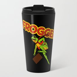 Frogger Cabinet Art Travel Mug