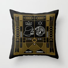 Galactic Balance  Throw Pillow