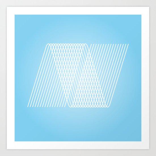 N like N Art Print