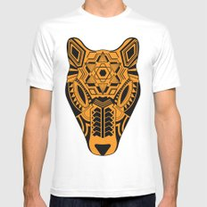 jaguar Mens Fitted Tee MEDIUM White