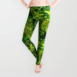 Green Safari Leggings