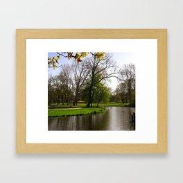 Amsterdam vondelpark Framed Art Print