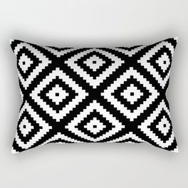 Tribal B&W Rectangular Pillow