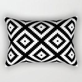 Tribal B&W Rectangular Pillow