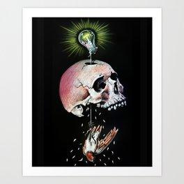 Bad Idea Art Print