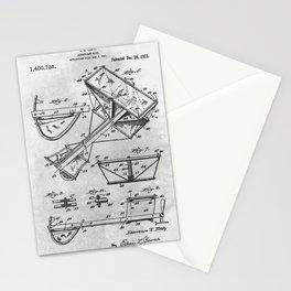 Aeroplane kite Stationery Cards