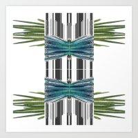 ~~spider glitch~~ Art Print