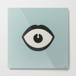 Eye Scream Metal Print