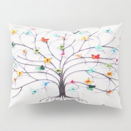 Butterfly Tree Delight Pillow Sham