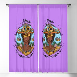 Zodiac: Libra Blackout Curtain