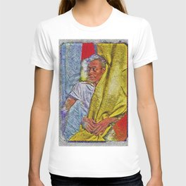 Harlem Renaissance 'James Baldwin' Portrait by Jeanpaul Ferro T-shirt