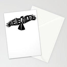 Nevermore Dark | Edgar Allen Poe Stationery Cards
