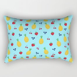 Fruit Salad Pattern Rectangular Pillow