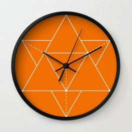 Merkabah Wall Clock
