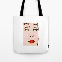 Resting Bitch Face, Pop art. Tote Bag
