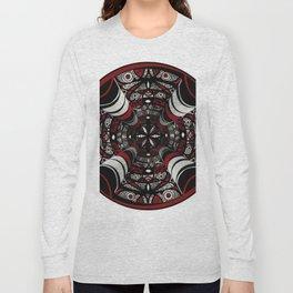 Muladhara root chakra mandala. Long Sleeve T-shirt