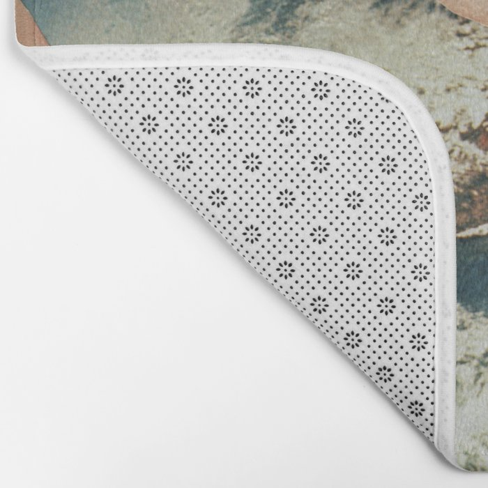 66 - happiness is only seconds away Bath Mat