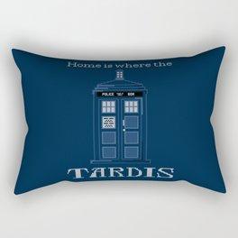 Who-mward Bound Rectangular Pillow