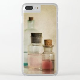 Bottles Clear iPhone Case
