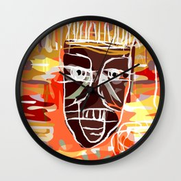 AFRICA PEOPLE Wall Clock